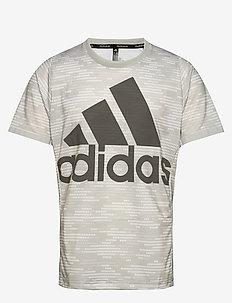 LOGO TEE PRIMEBLUE - t-shirts - grey