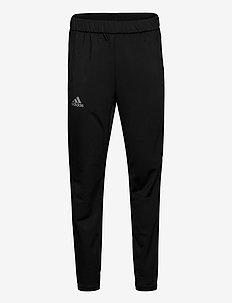 3-STRIPE KNIT TENNIS PANTS - spodnie treningowe - black