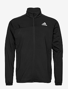 3 STRIPES KNIT JACKET - sportsjakker - 000/black