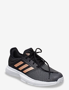 GAMECOURT W - buty do tenisa - black