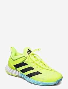 ADIZERO UBERSONIC 4 M - tenniskengät - yellow