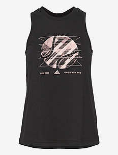 WOMEN TENNIS TANK US OPEN - tank tops - black