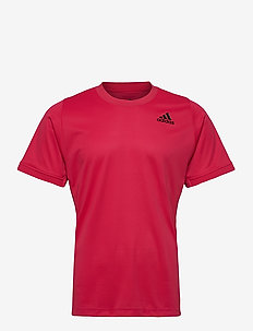 FREELIFT SOLID TENNIS T-SHIRT HEAT.RDY - t-shirts - pink