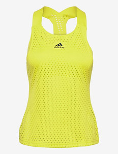 HEAT.RDY Primeblue Tennis Y-Tank Top - linnen - yellow