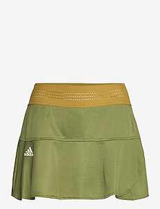 Tennis HEAT.RDY Primeblue Match Skort - sports skirts - dark green