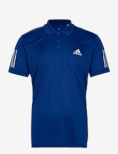 3-Stripes Club Polo Shirt - topy sportowe - blue