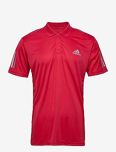 3-Stripes Club Polo Shirt - topy sportowe - pink