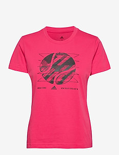 WOMEN SHORTSLEEVE TEE US OPEN - t-skjorter - pink
