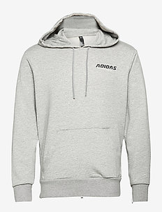 GRAPHIC HOODIE - basic sweatshirts - grey
