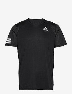 CLUB 3-STRIPE T-SHIRT - t-shirts - black