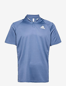 CLUB RIB POLO SHIRT - kurzärmelig - blue
