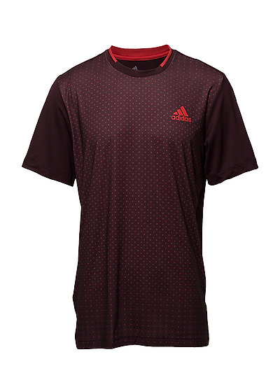 ADVANTAGE TREND TEE - 001/BURGUNDY