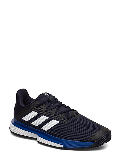 Solematch Bounce Clay Court Shoes Shoes Sport Shoes Training Shoes- Golf/tennis/fitness Blau ADIDAS TENNIS