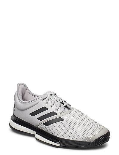 Solecourt M X Primeblue Shoes Sport Shoes Training Shoes- Golf/tennis/fitness Grau ADIDAS PERFORMANCE