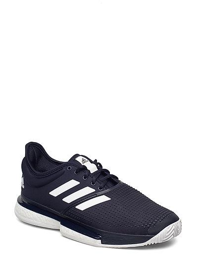 Solecourt Shoes Shoes Sport Shoes Training Shoes- Golf/tennis/fitness Schwarz ADIDAS PERFORMANCE