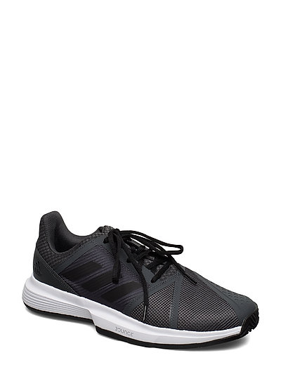 Courtjam Bounce Clay Shoes Shoes Sport Shoes Training Shoes- Golf/tennis/fitness Grau ADIDAS TENNIS