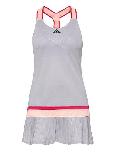 Tennis Y-Dress Heat.Rdy Kurzes Kleid Grau ADIDAS PERFORMANCE