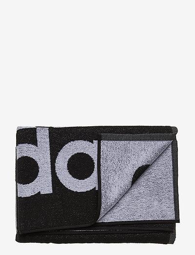 Towel Large - badtillbehör - black