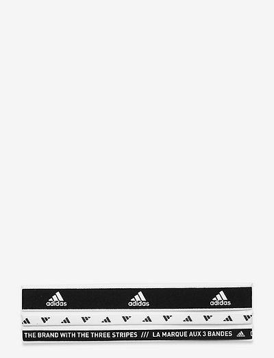 3PP HEADBAN NEW - hårbånd - black/white/white