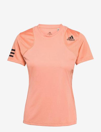 CLUB T-SHIRT - t-shirts - 000/coral
