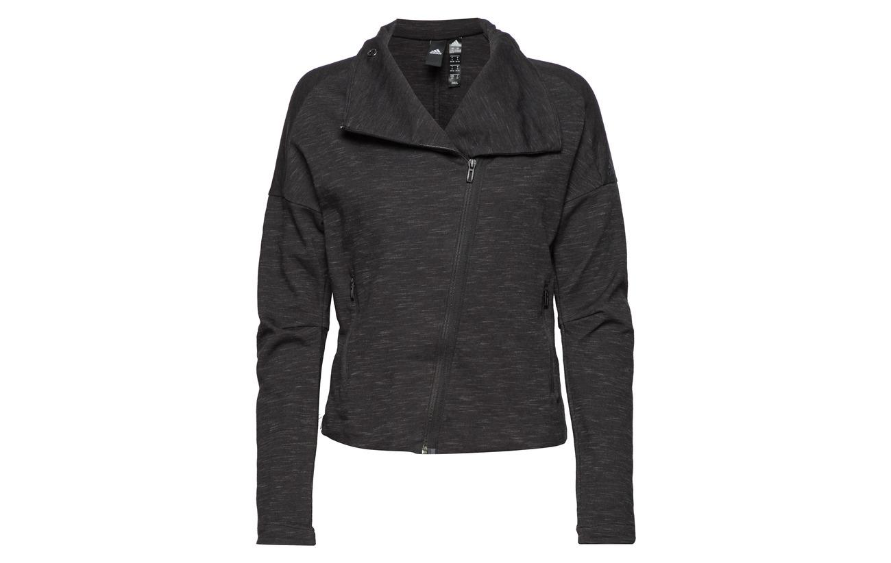 W polyester Elastane Adidas 25 73 Jkt 2 Black Coton Htr Rec grefiv pqgdqO