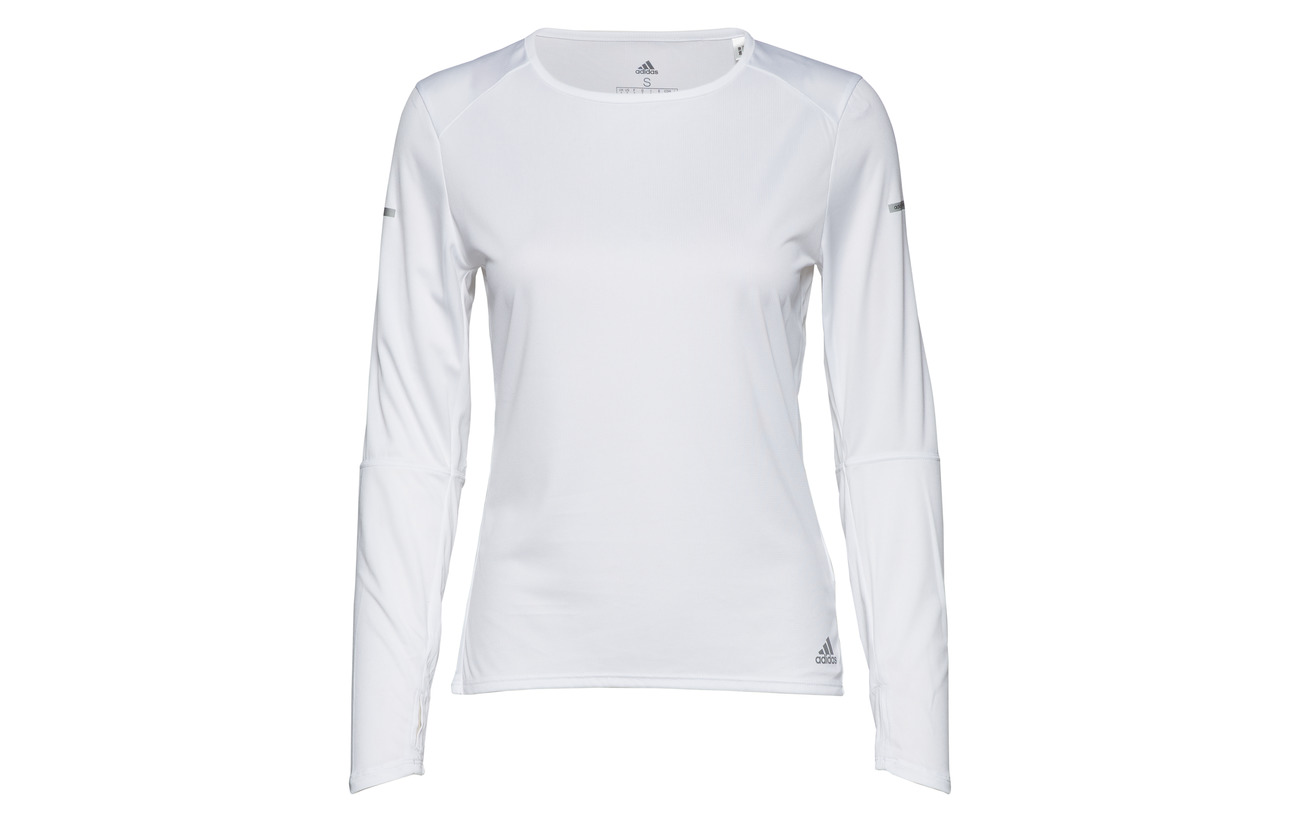 49 Adidas Polyester W Polyester Run Ls Recyclé White 51 a7qYgax