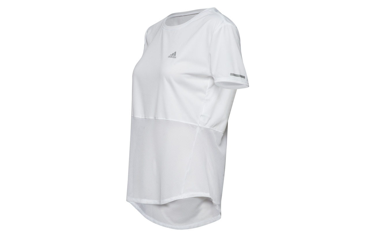 Adidas White Polyester Recyclé 49 Polyester Own Run The Tee 51 IawnIprqF