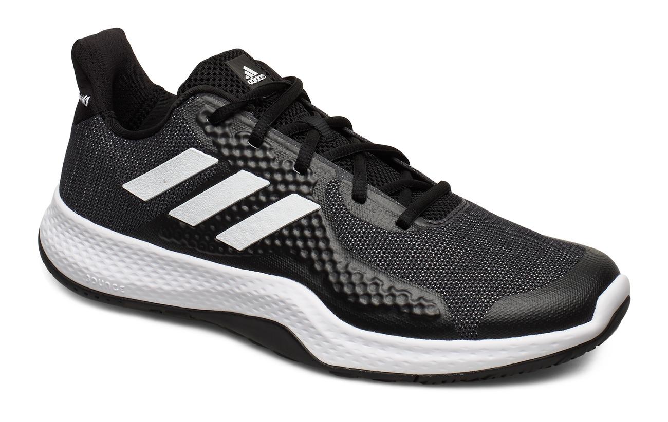 adidas Performance FitBounce Trainer M - CBLACK/FTWWHT/CBLACK
