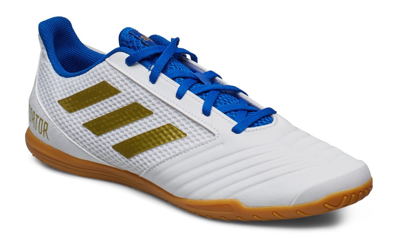 adidas Performance PREDATOR 19.4 IN SALA - FTWWHT/GOLDMT/FOOBLU