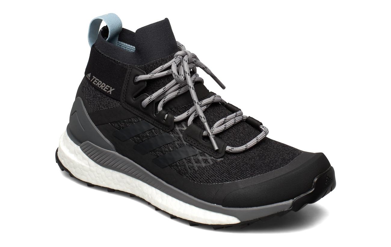 adidas Performance TERREX FREE HIKER W - CARBON/CARBON/ASHGRE