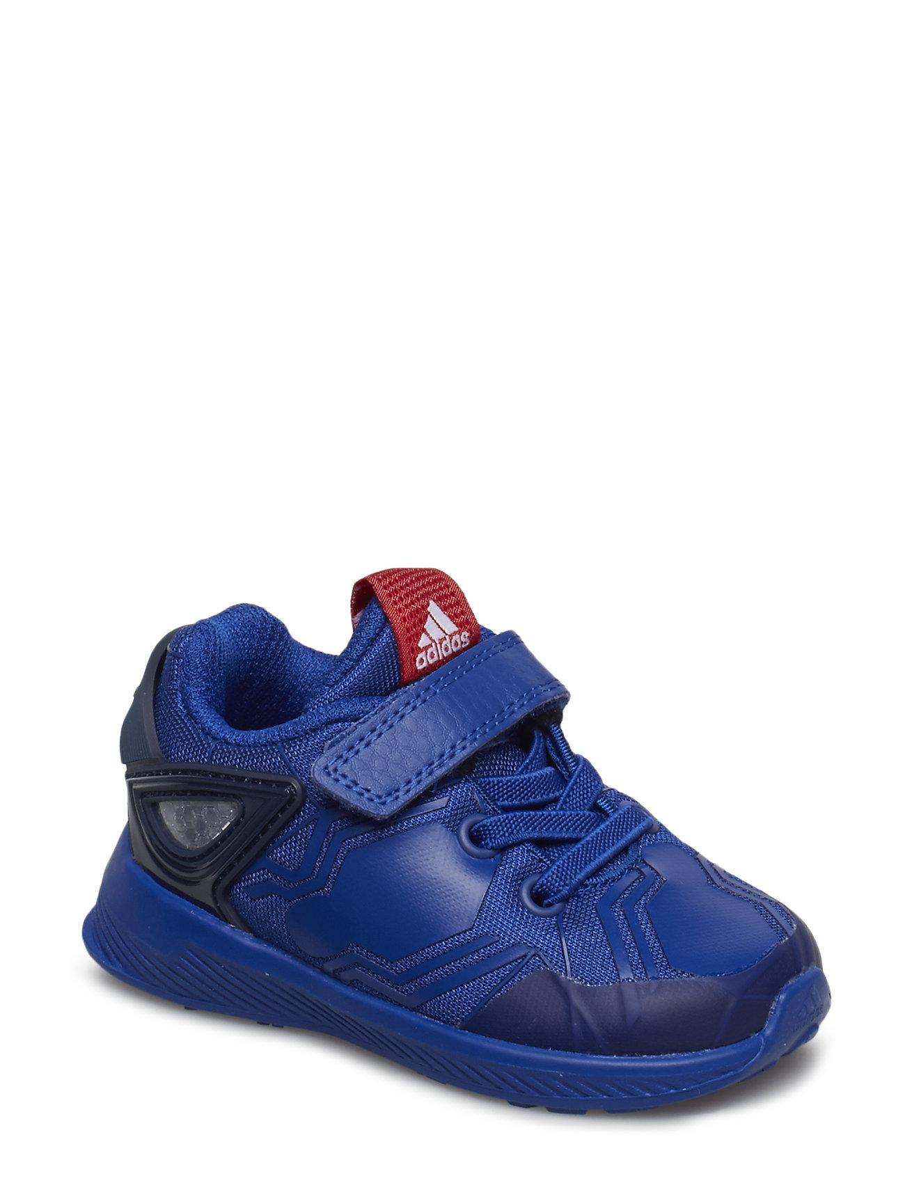 adidas Performance RapidaRun Spider-Man EL I - CROYAL/SCARLE/CONAVY