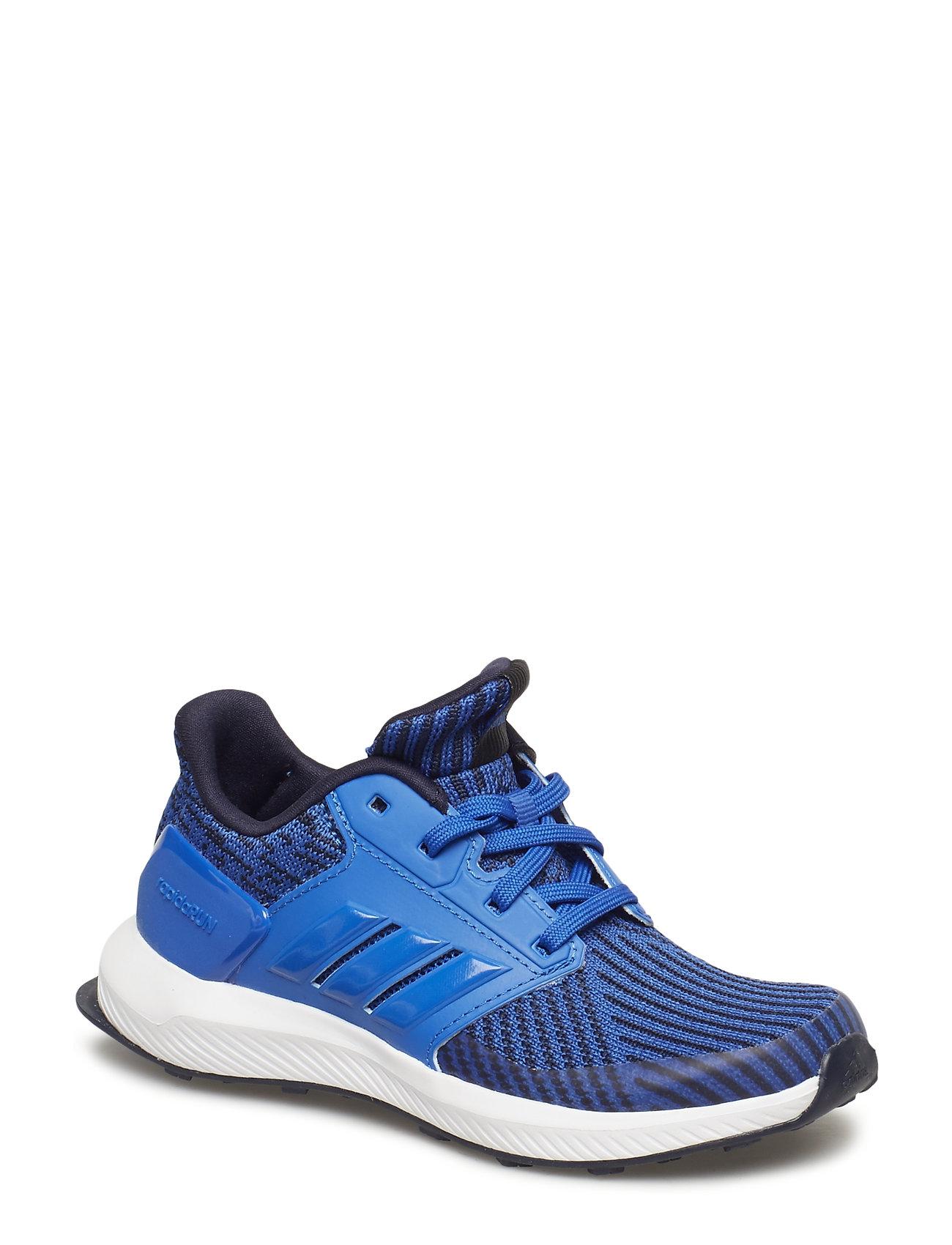 adidas Performance RapidaRun KNIT C - BLUE/LEGINK/FTWWHT