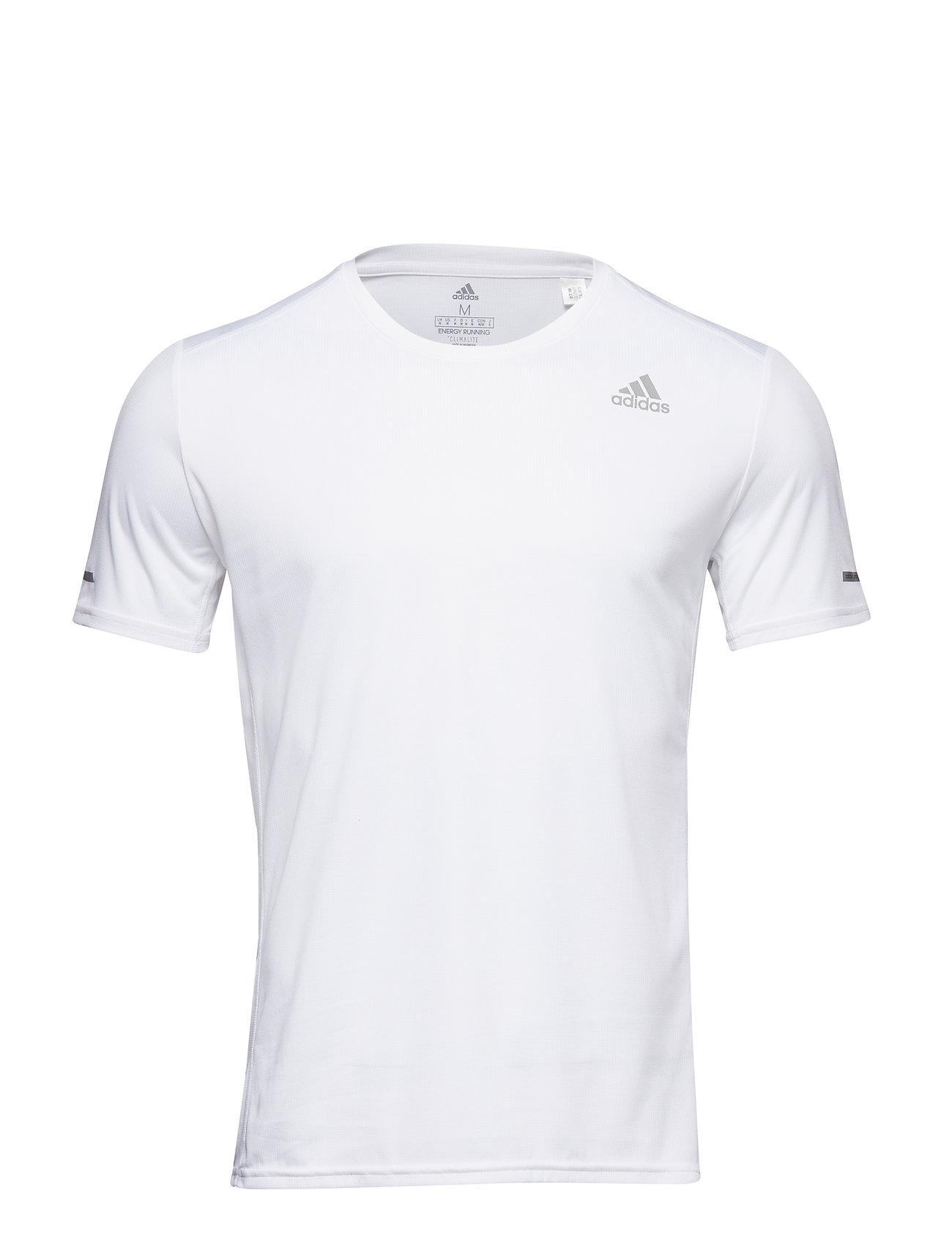 adidas Performance RUN TEE M - WHITE