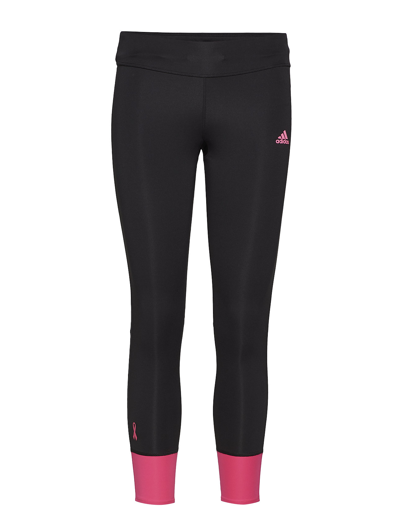adidas Performance RESPONSE TIGHT - BLACK/SHOPNK