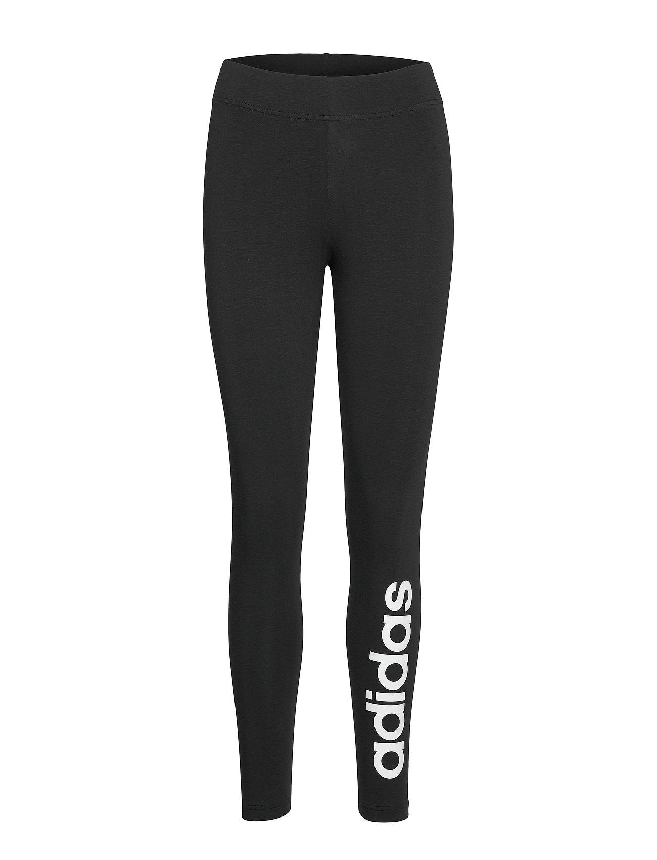 adidas Performance W E LIN TIGHT - BLACK/WHITE