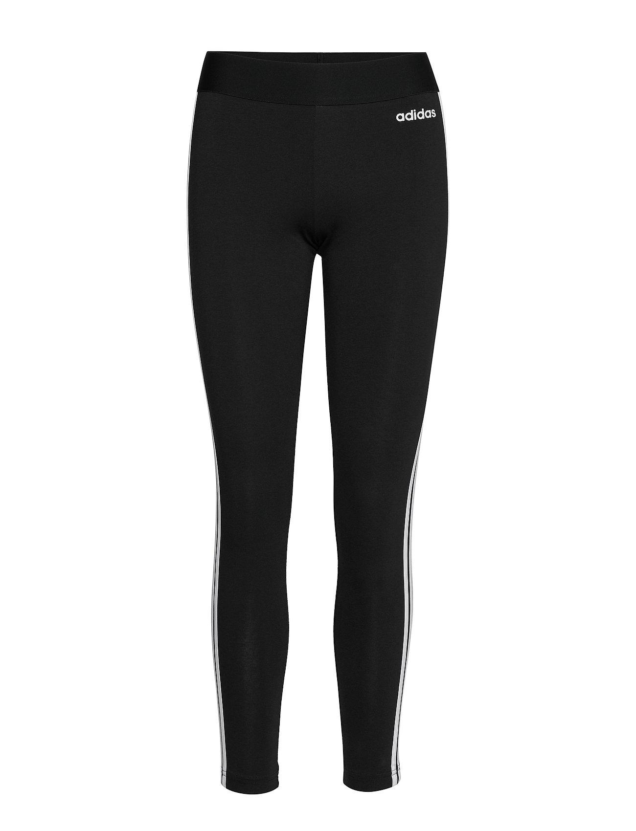 adidas Performance W E 3S TIGHT - BLACK/WHITE