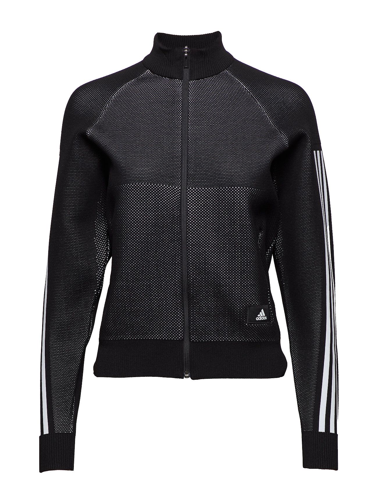 adidas Performance W Id Knit Trtop - BLACK/WHITE