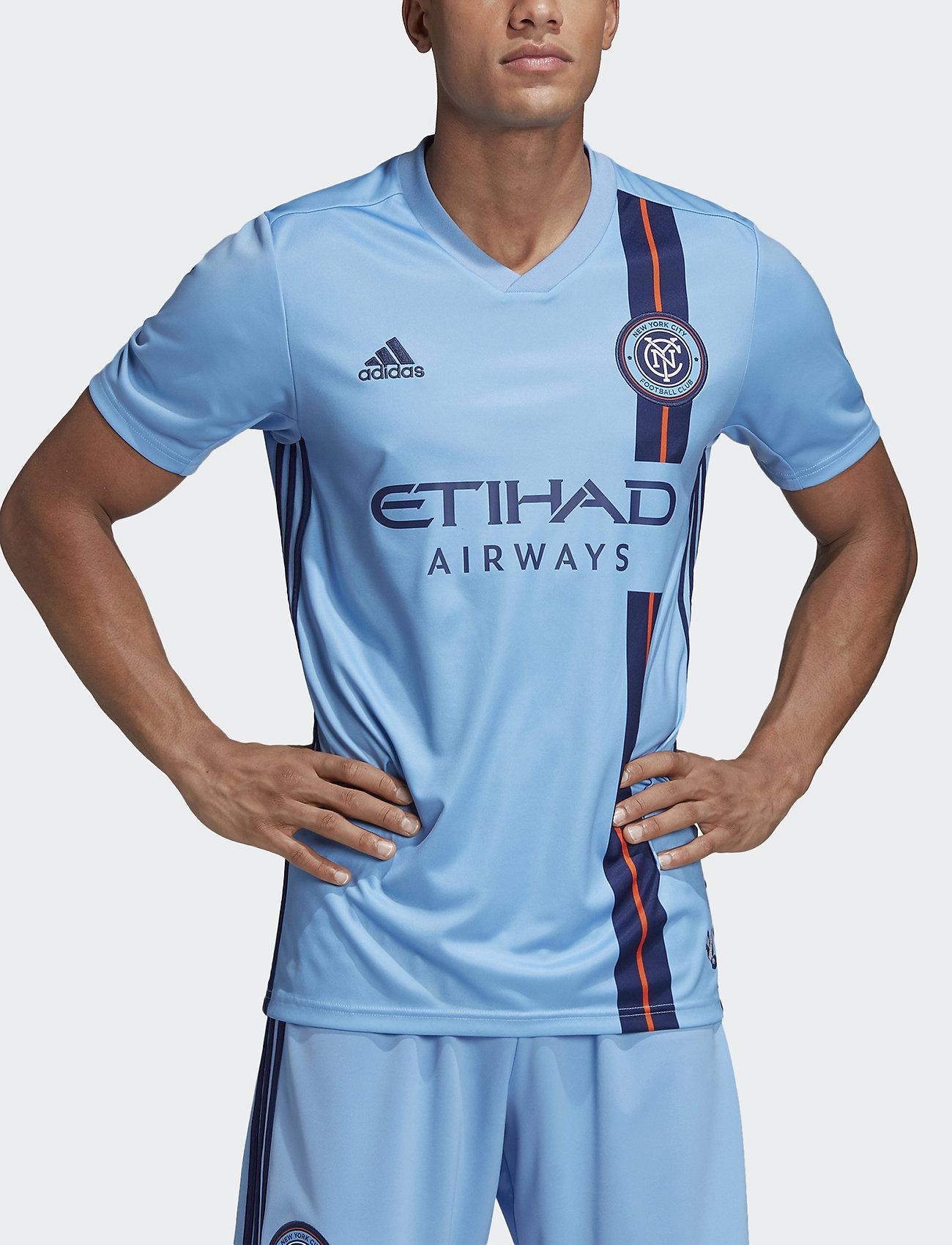 adidas Performance - NYC H JSY - football shirts - balgbl/ngtsky - 0