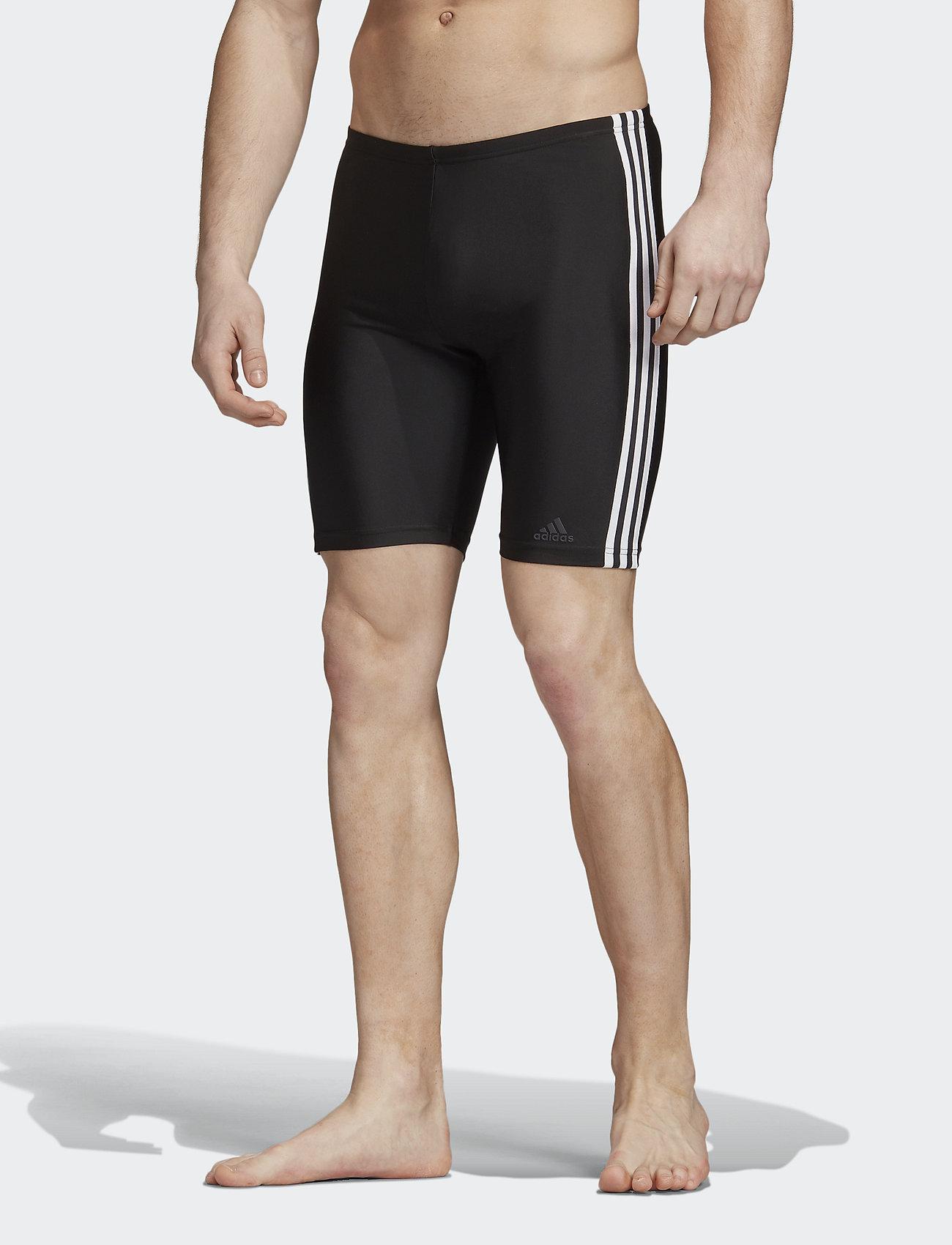adidas Performance - 3-Stripes Swim Jammers - shorts - black/white - 0