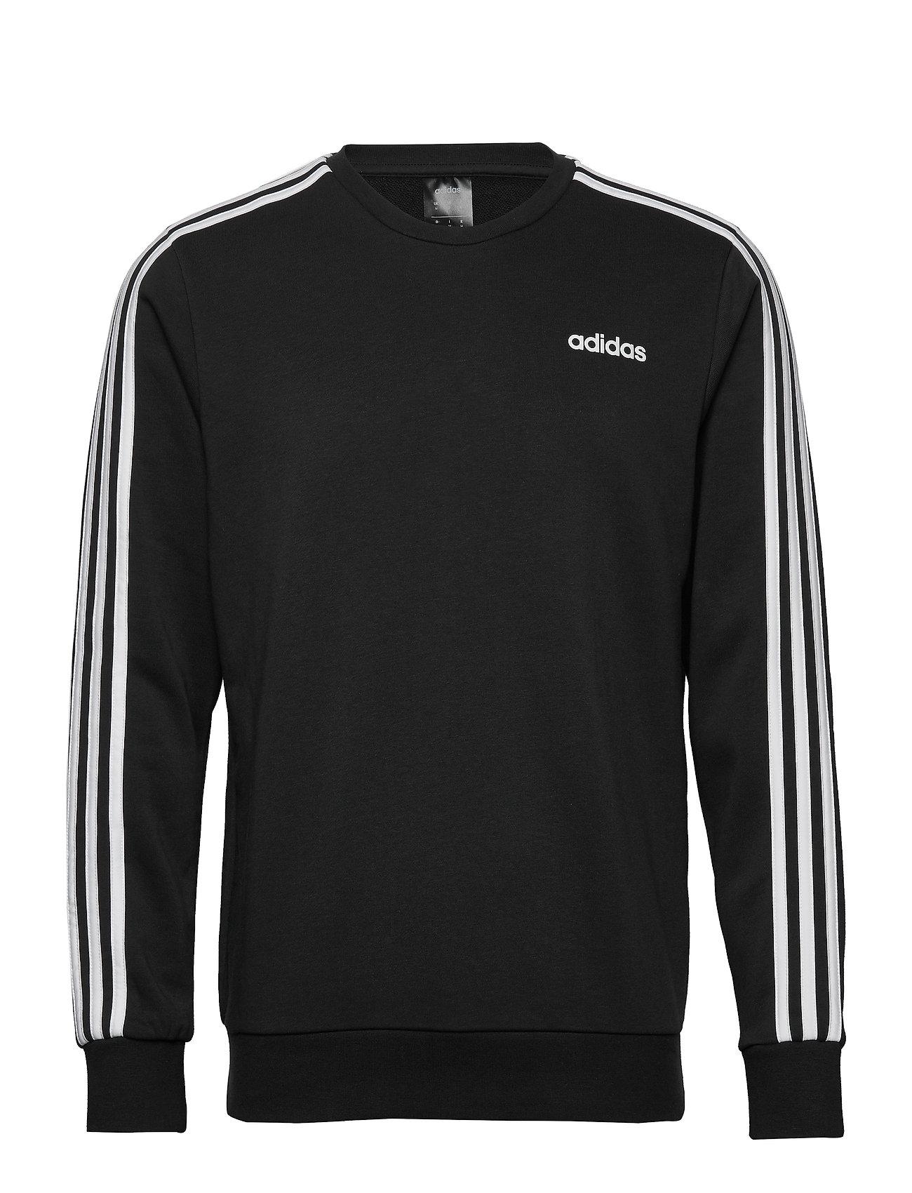 adidas Performance E 3S CREW FT - BLACK/WHITE