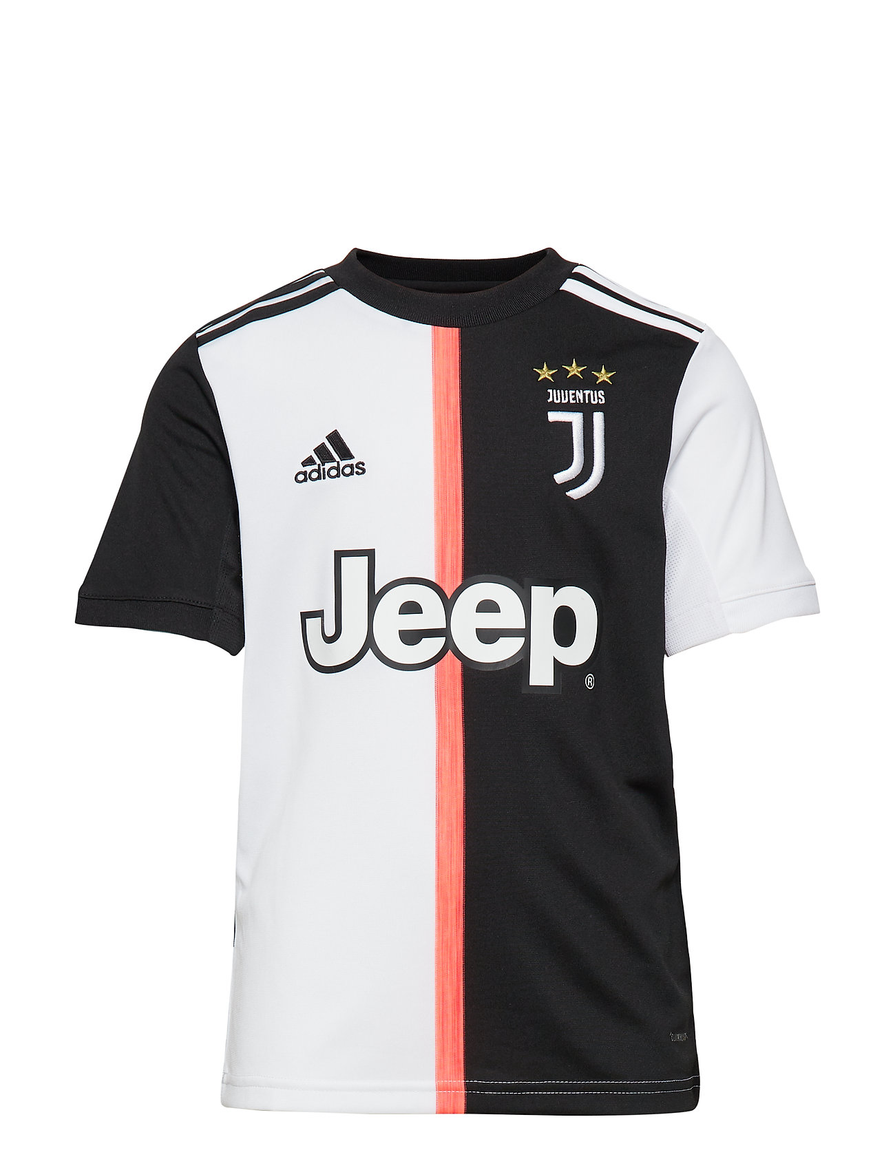 adidas Performance JUVE H JSY Y - BLACK/WHITE