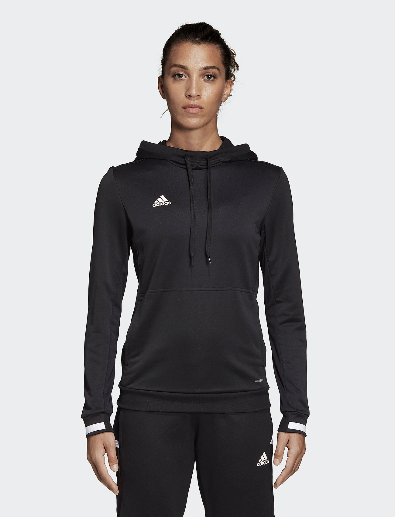 adidas Performance - T19 HOODY W - hupparit - black - 0