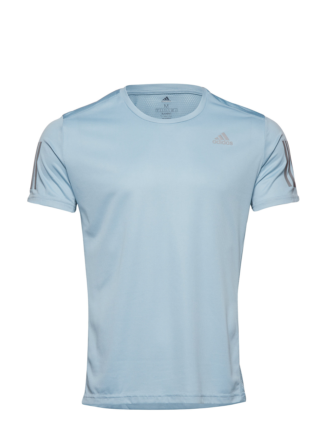 Own The Run Tee T shirt Blå ADIDAS