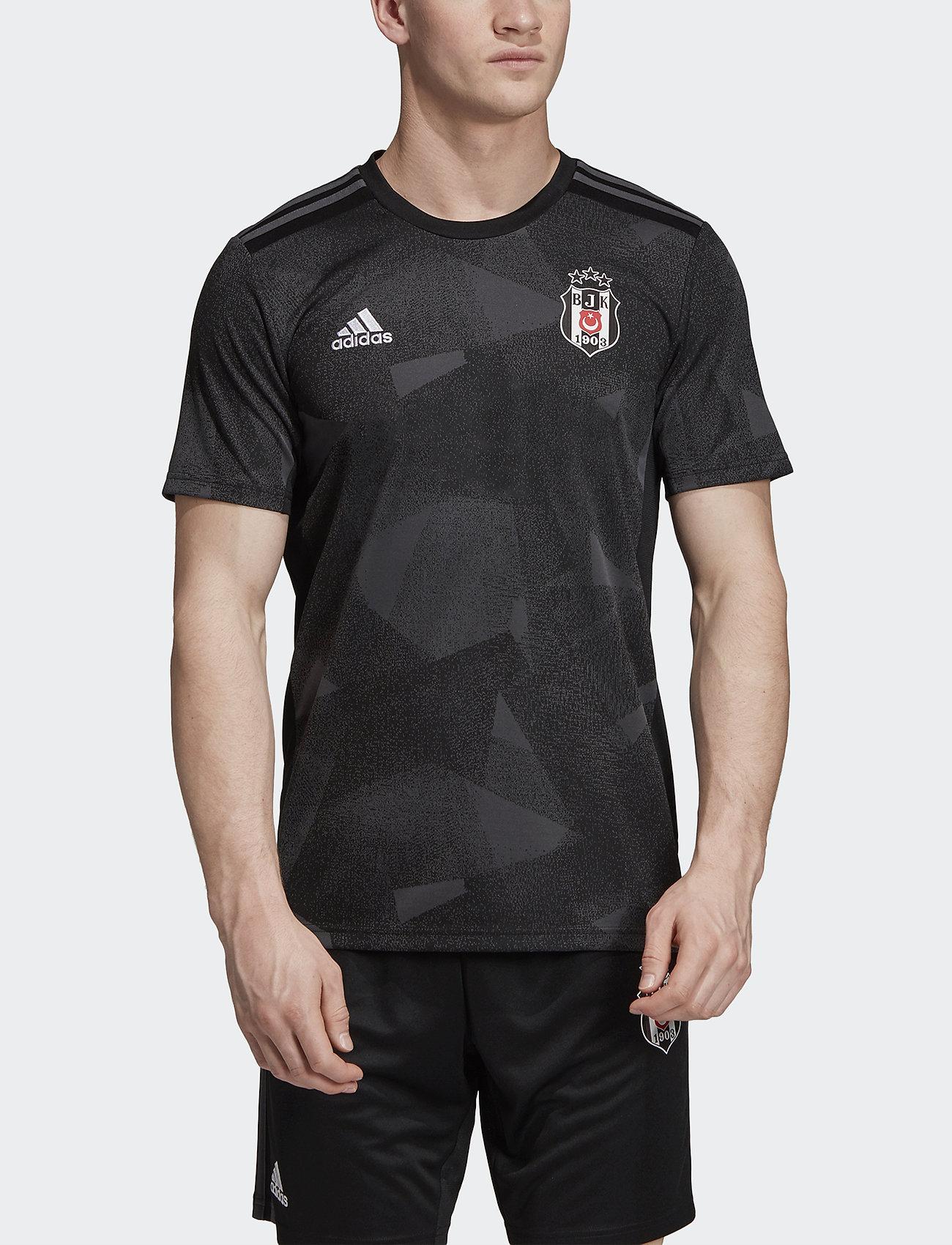 adidas Performance - BJK A JSY - football shirts - black - 0
