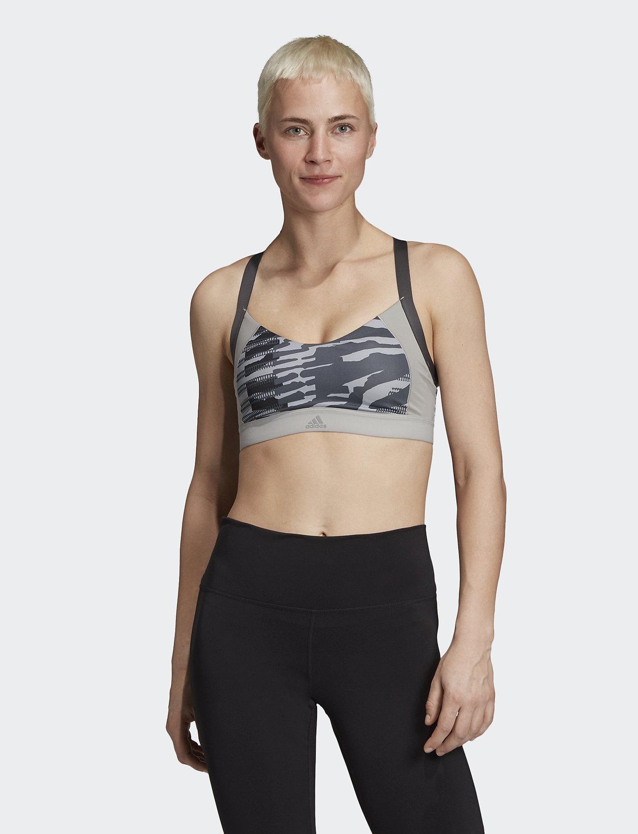 adidas Performance - AM AI Q3 BRA - sport bras: low - mgsogr/print - 0