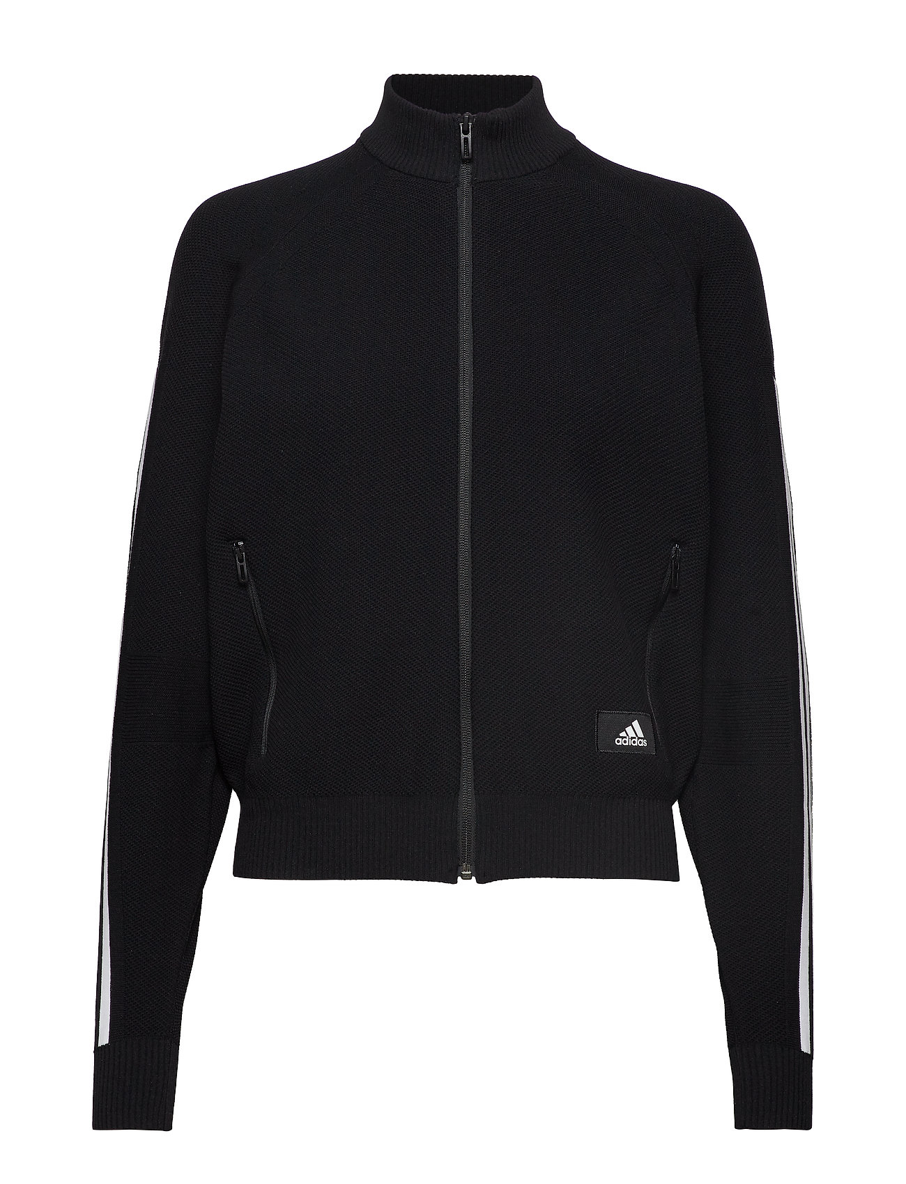 ADIDAS W Id Knit Tt Sweat-shirt Pullover Schwarz ADIDAS PERFORMANCE