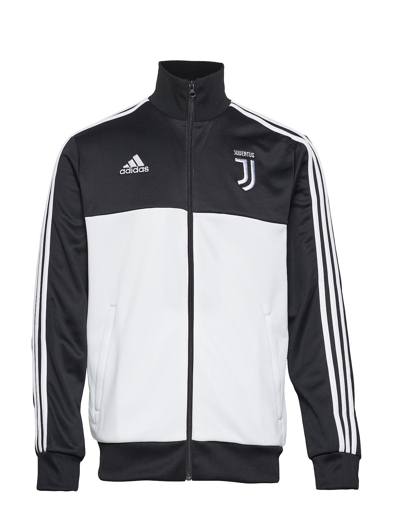 adidas Performance JUVE 3S TRK TOP - BLACK/WHITE
