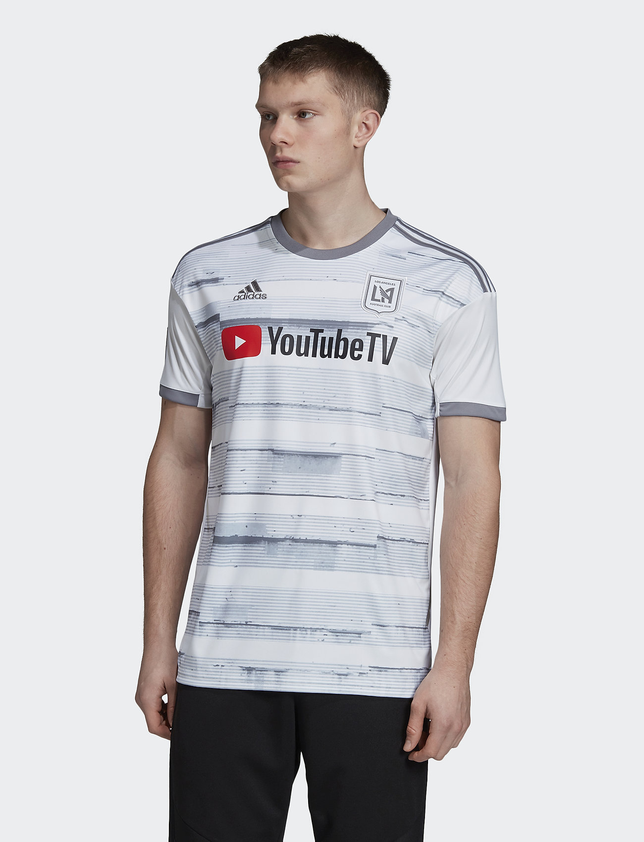 adidas Performance - LAFC A JSY - football shirts - white - 0