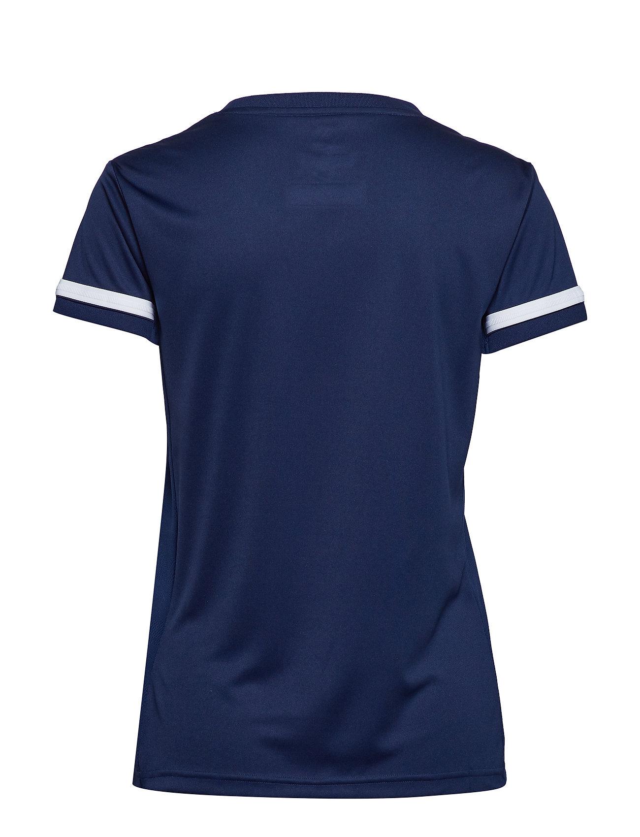 adidas Performance - Team 19 Jersey W - voetbalshirts - navblu/white - 1