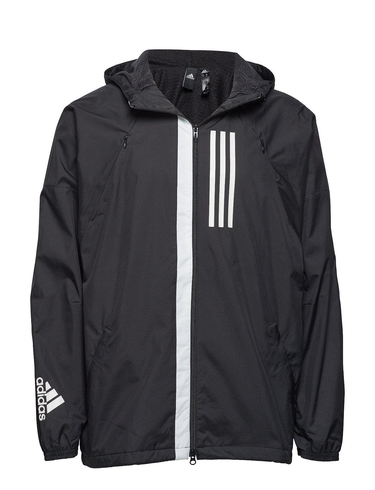 f9c9bb8b4f M Wnd Jkt Fl (Black) (£48.72) - adidas -